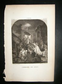 After Coning C1810 Antique Print. L'Adoration Des Mages